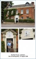 Vertical Dial - Bayfield House, Aylesham.
