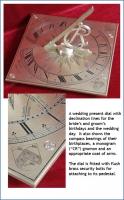 A wedding present dial.