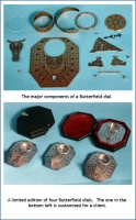 A limited edition of four Butterfield dials.