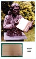 The Isaac Newton Sundial.